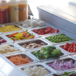 Greek House Chefs salad bar with fresh local produce FAQ
