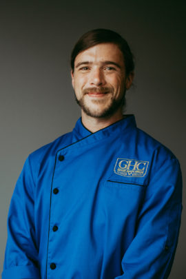 Jared Hickman Greek House Chefs Campus Manager